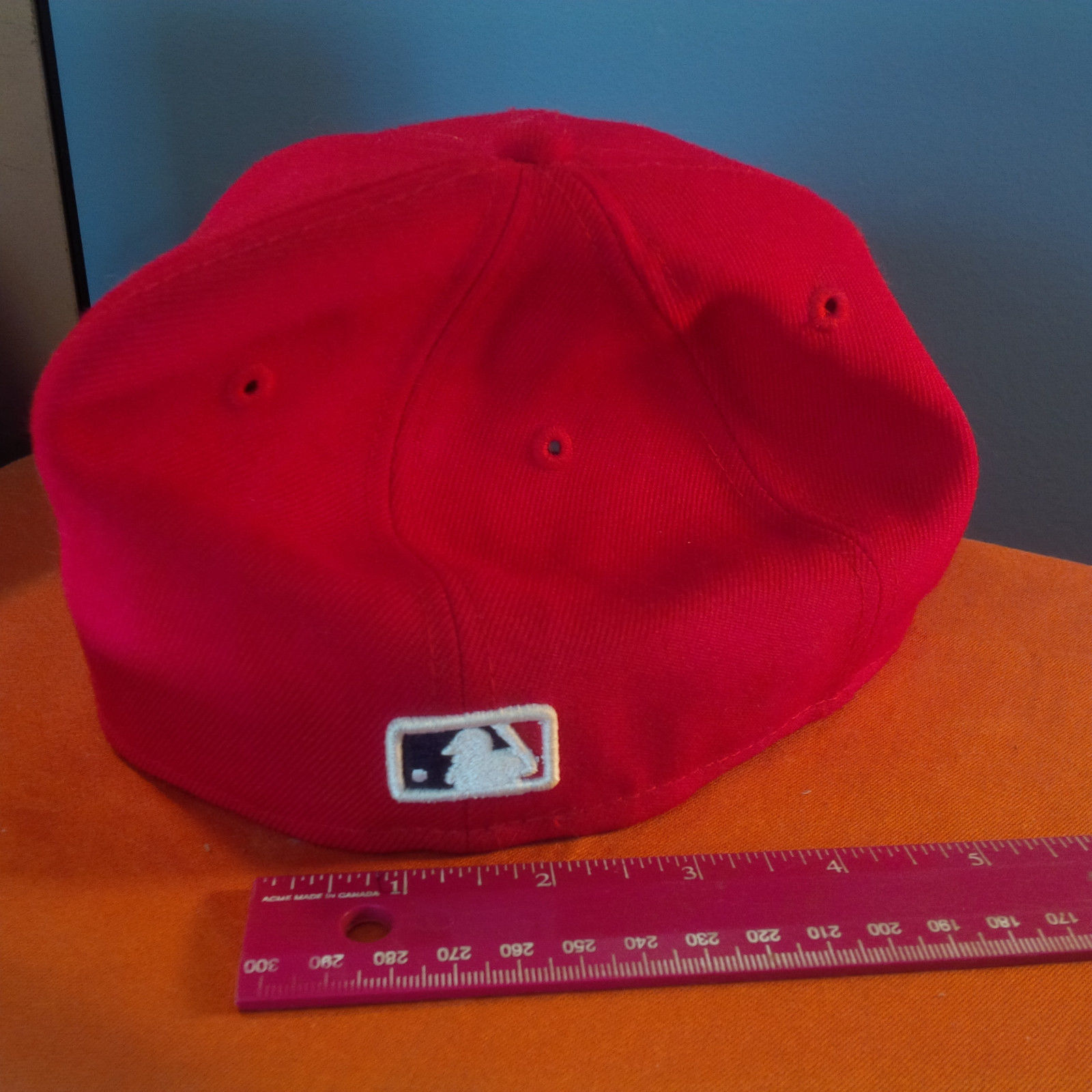 ST LOUIS CARDINALS NEW ERA 59FIFTY HAT 2007FITTED 6 3/4  BLACK  BOTTOM.(DD) image 4