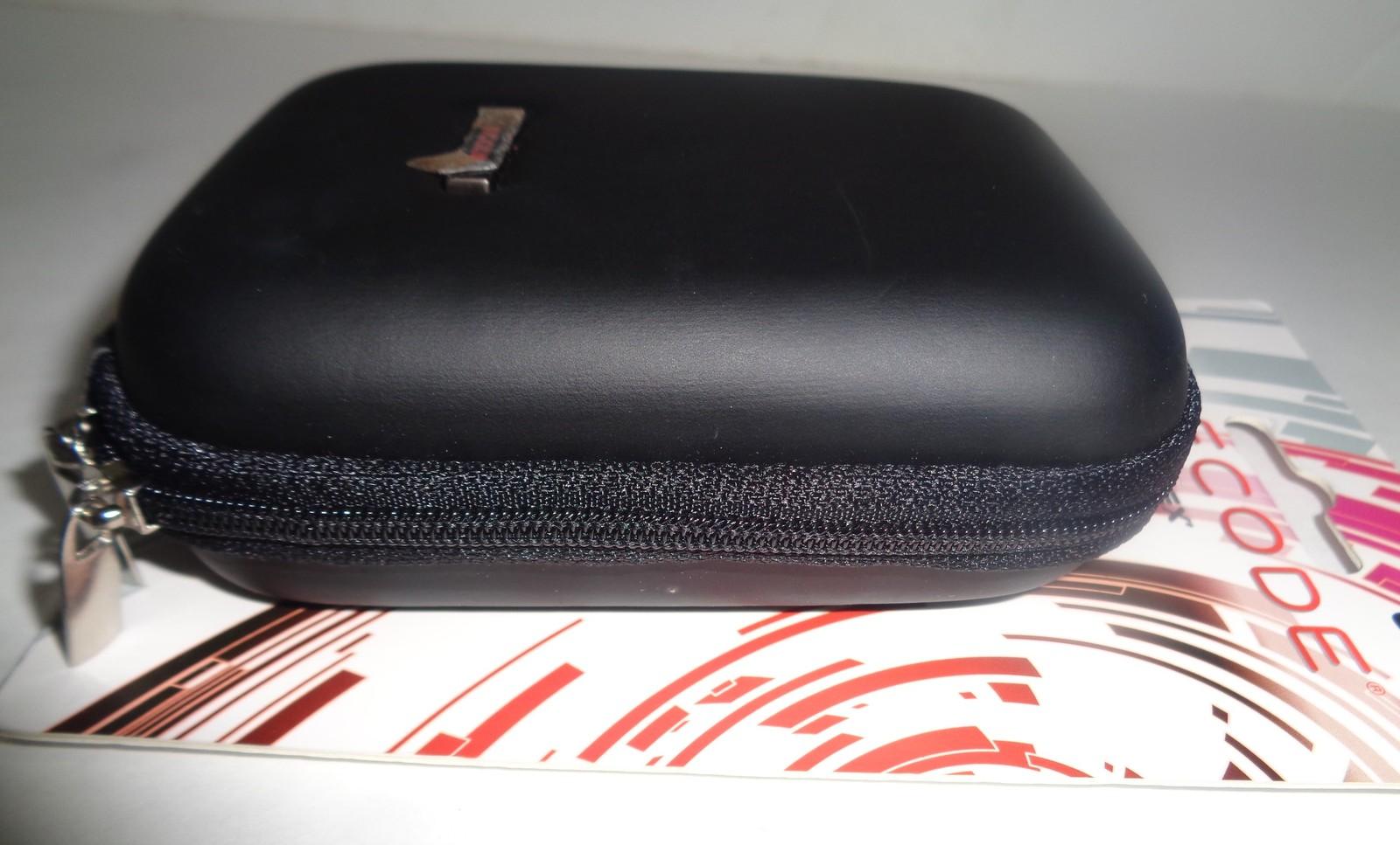 "Decode Camera Case Hard Cover Black w/ 23"" Adjustable Strap NWT by Sumdex"