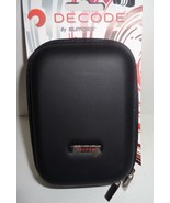 "Decode Camera Case Hard Cover Black w/ 23"" Adjustable Strap NWT by Sumdex  - $10.99"