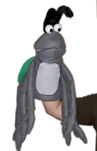 "Professional ""Grey Bug w/6 Arms"" Muppet Style Ventriloquist Puppet * Custom Made - $40.00"