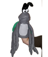 "Professional ""Grey Bug w/6 Arms"" Muppet Style Ventriloquist Puppet * Cus... - $40.00"
