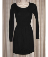 DIVIDED by H&M Black Knit Long Sleeve Dress - $19.99