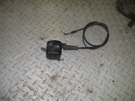 SUZUKI 1995 QUAD RUNNER 250 4X4 THROTTLE ASSEMBLY WITH CABLE  PART 30,529 - $40.00