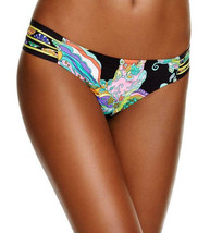 NEW Trina Turk Sea Garden Tab Side Shirred Swimwear Bikini Bottom 10 TT6... - $24.74