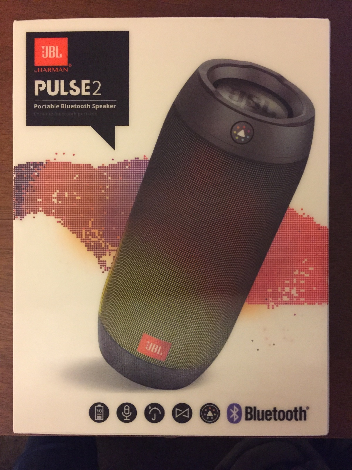 JBL Pulse 2 Portable Bluetooth Speaker - In Box - Home ...