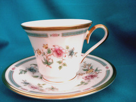 Lenox, Morning Blossom, Cup and Saucer, Mint - $49.99