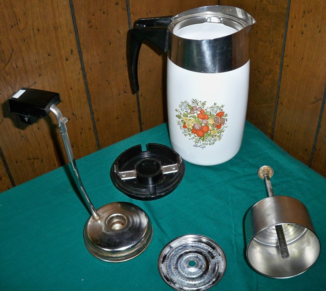 Rare Vintage Corning Ware 10 Cup Electric Percolator Spice of Life  E–1210 - 8