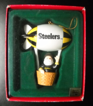 Russ Berrie Christmas Ornament Pittsburgh Steelers Santa's Watching NFL ... - $15.99