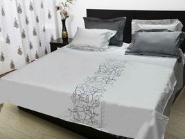 Embroidered Double Bedding set  bedsheet:  230 ... - $77.00