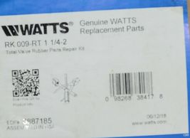 Watts Total Valve Rubber Parts Repair Kit 0887185 RK 009 RT image 6