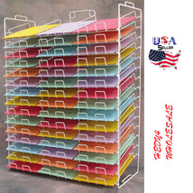 "NEW Retail 45 Slot 8 1/2"" x 11"" Scrapbooking Paper Storage Display Rack ... - $172.11"