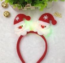 Christmas LED Light Hair Band Headband Accessories image 2