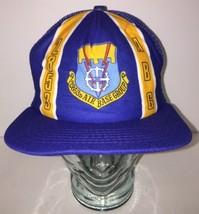 Vintage 80s 2853D Air Base Group Warner Robins GA Trucker Hat Cap New Era USA - $32.85