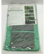 SIMPLIFY OVER THE DOOR SHOE CADDY 20 POCKET MINT GREEN/GRAY, FREE SHIPPING - $19.79