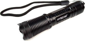 Free Hybeam Tactical Flashlight Information