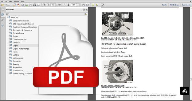 2007 bmw x3 service manual pdf