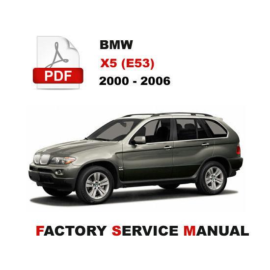 2005 bmw x5 repair manual