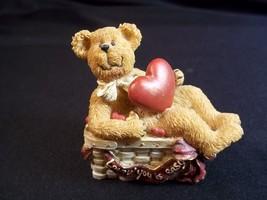 Boyd's Bears Basketbearies figurine Heartley Lovin' you is easy 2004 TBC - $9.22