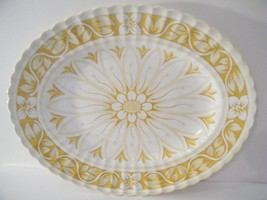 J&G Meakin Medici  Platter - Yellow and White FLoral - replacement  12 X... - $14.85