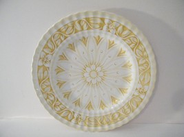 J & G Meakin Medici Dinner Plate - Yellow and White -Replacement - $9.90