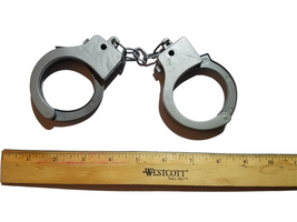 Cop Handcuffs Puppet Accessory  - $4.88