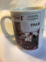 norman rockwell saturday evening post mugs - $6.92