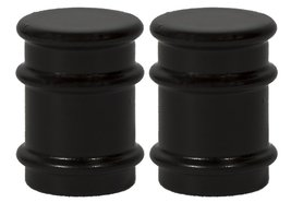 Urbanest Set of 2 Spina Lamp Finials, 1 1/4-inch Tall, Oil-rubbed Bronze - $15.83