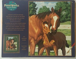 Horse Paint By Numbers Kit Mother's Pride Anima... - $9.89