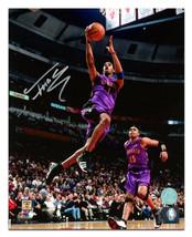 Tracy McGrady Toronto Raptors Autographed Basketball Fast Break 16x20 Photo - £118.42 GBP