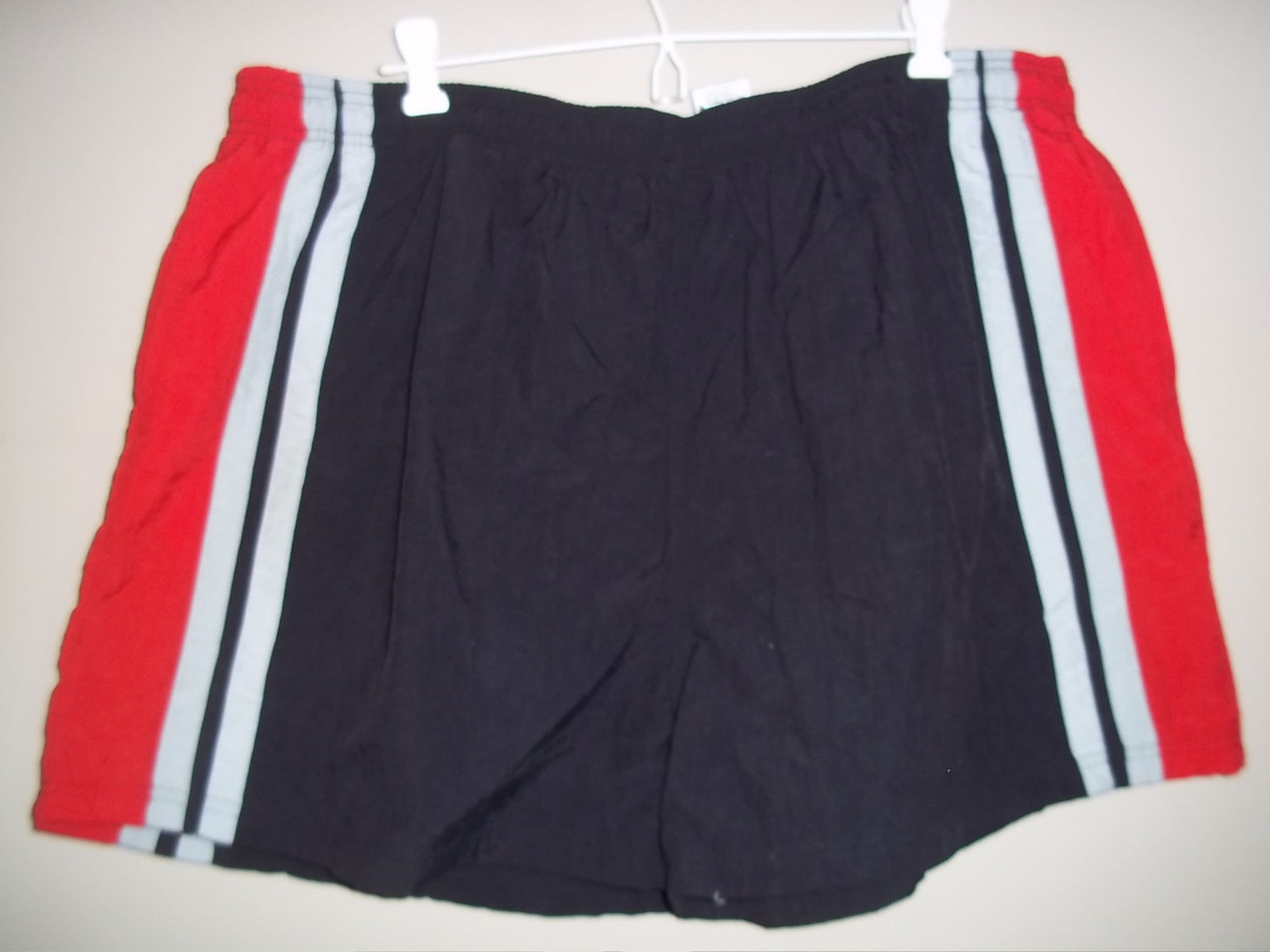 35dda71421 Athletic Works Swim Trunks Black Red and and 50 similar items