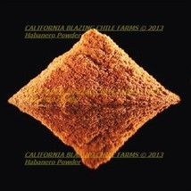1 oz. Pure Habanero Powder and XXX-Hot! Orgaically grown and cultivated - $4.50