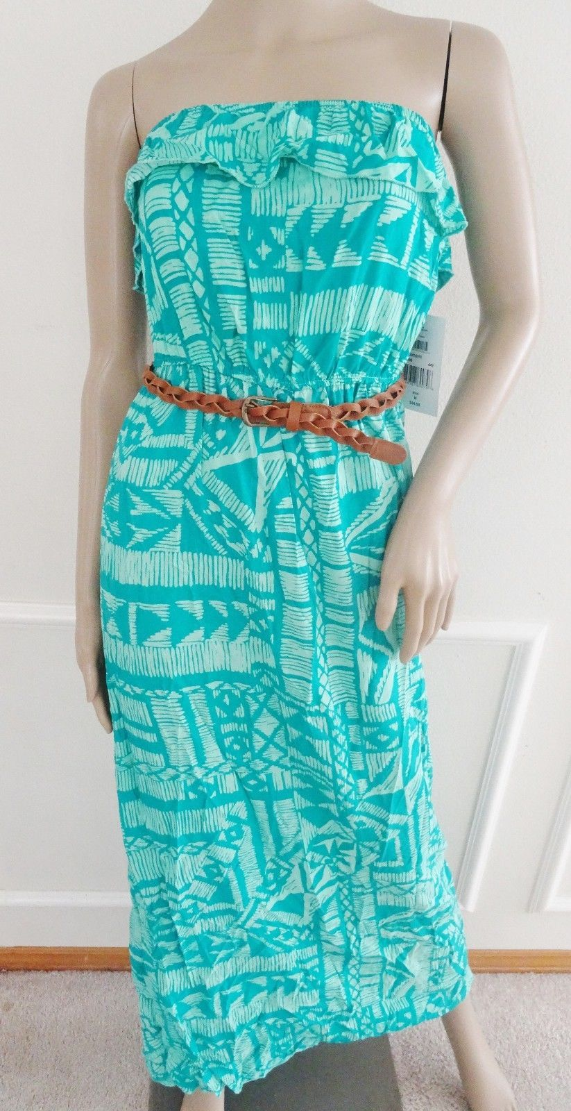 9bdb9864ab7 Nwt Trixxi Woven Strapless Maxi Dress Sz S and 50 similar items. S l1600