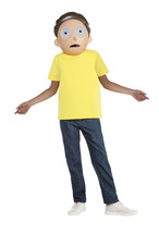 Child Rick And Morty Morty Costume, Large 12-14 - $25.86