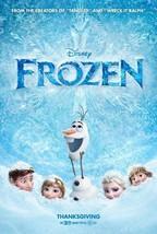 "DISNEY FROZEN 27""x40"" D/S Original Movie Poster One Sheet 2013 Elsa Anna - $73.49"
