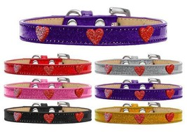 RED GLITTER HEARTS Ice Cream Dog Collar * 6 Colors* Valentines Day Puppy... - €8,77 EUR+