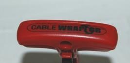 4 Garner Bender CWT2RR Wraptor Cable Cord Red Black Organizer Medium image 2