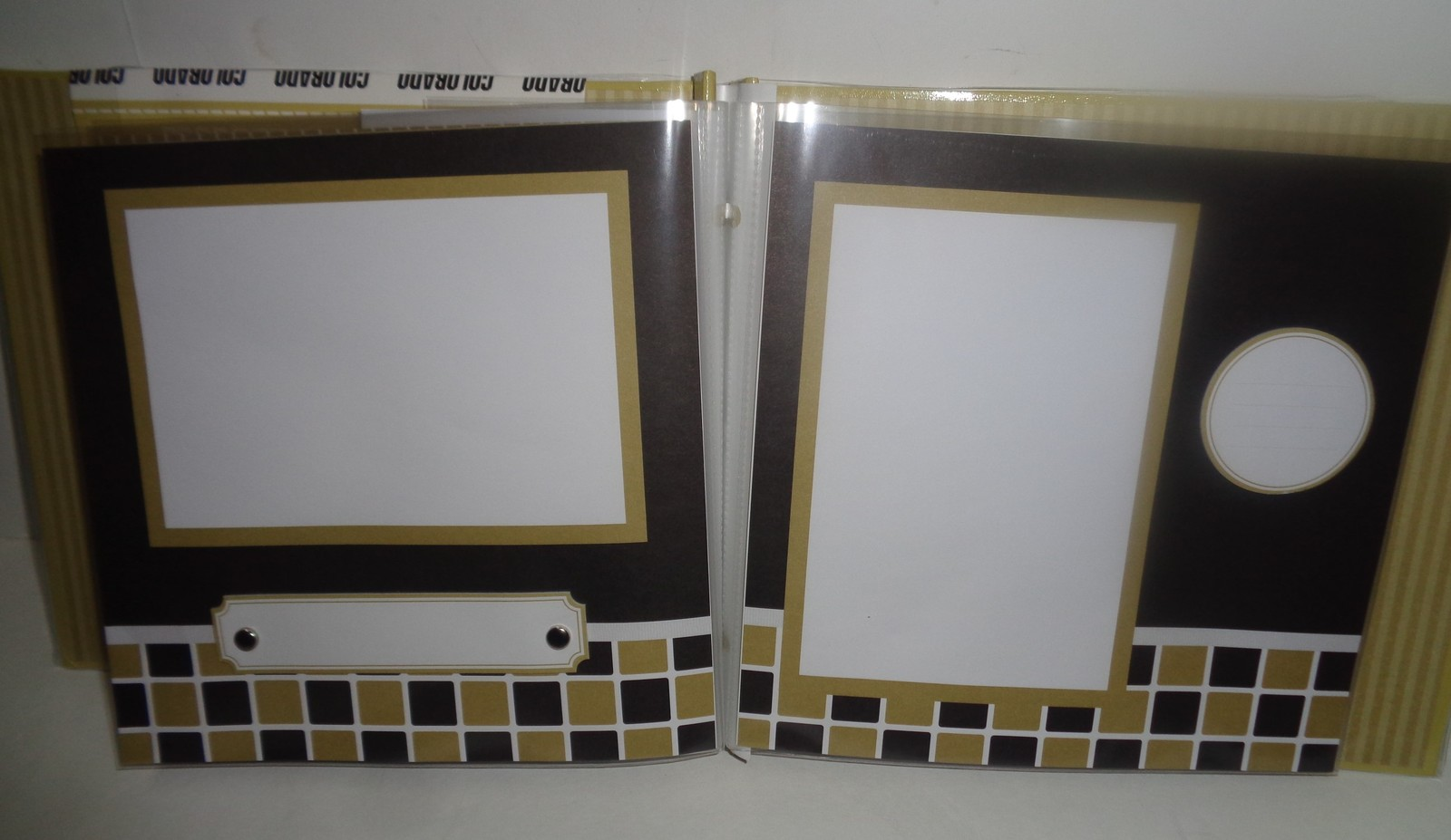 University of Colorado Complete ScrapBook NWT Fast Easy Scrapbook Gold