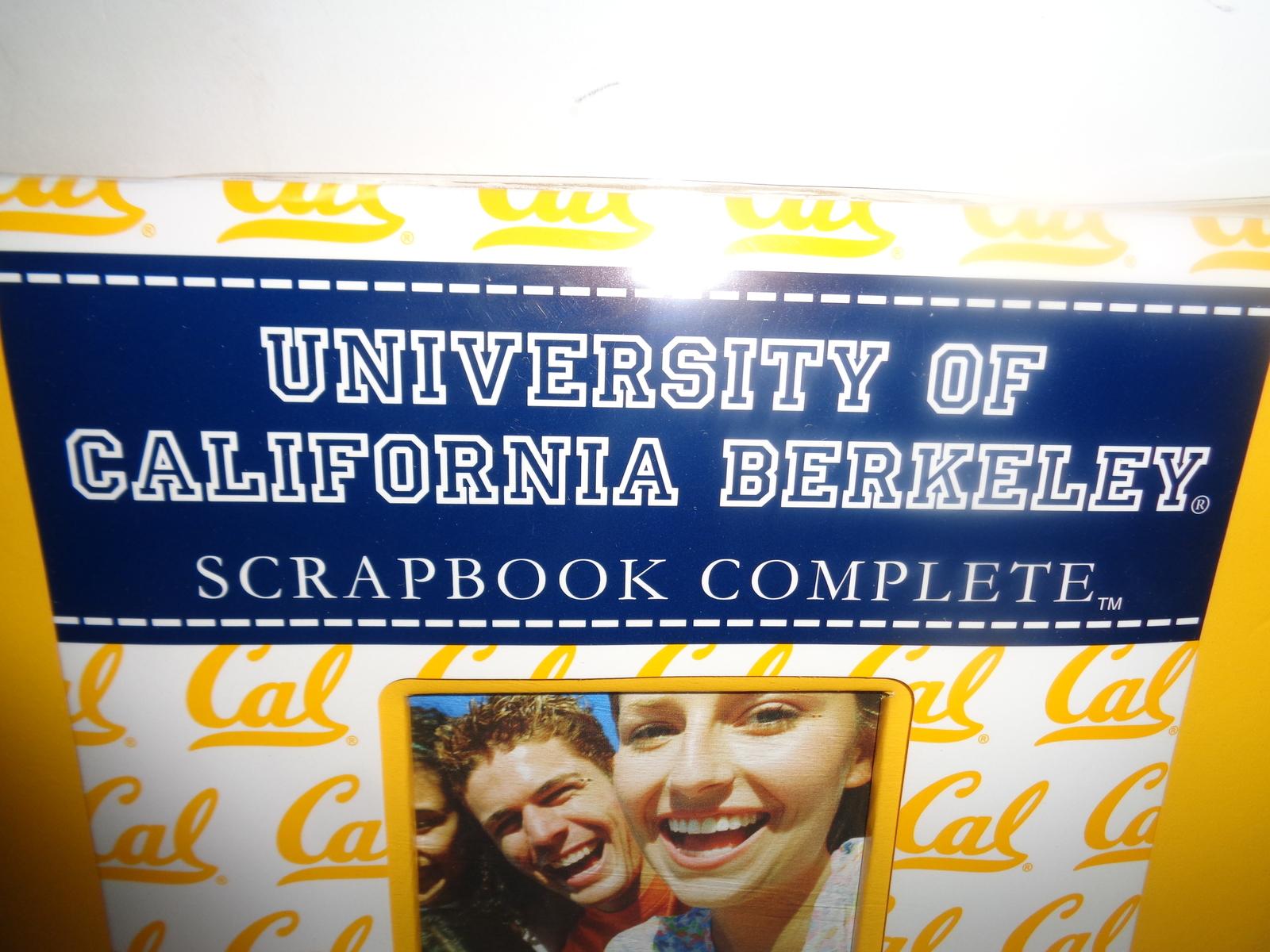 University Of California Berkeley Complete Scrapbook NWT Fast Easy Collegiate