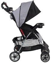 Baby Stroller Kolcraft Cloud Plus Lightweight Slate h3900 l3125 w1800 w1180 - $86.15