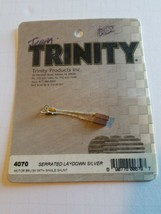 Free Shipping Trinity 4070 Serrated Laydown Silver Motor Brush With Sing... - $6.92