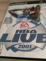 Sony PS2 Nba Live 2001 - $4.00