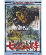 Seven Samurai movie DVD Toshiro Mifune; Akira Kurosawa Takashi Shimura s... - $19.99
