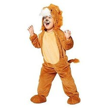 Plush Lion Costume Jumpsuit Toddler 4T-5T Ages 4-5 Cute! - $34.99