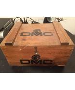 DMC Embroidery Thread Floss Wood Storage Box Vi... - $49.95
