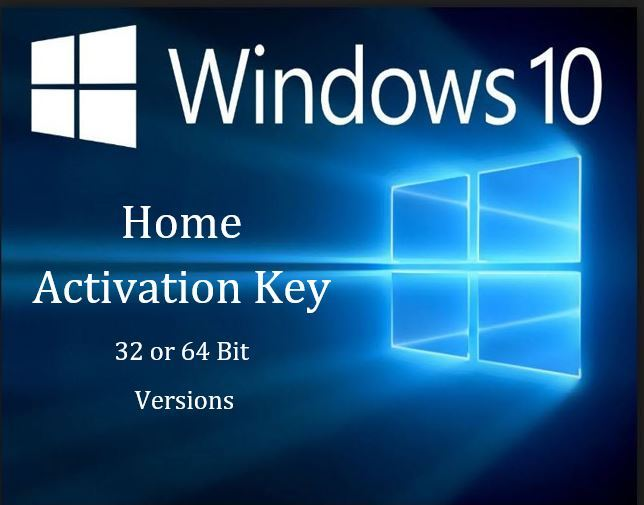 windows 10 home activation key  64 bit