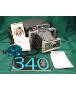 Polaroid 340 Land Camera Timer Flash Case Cold Clip Developer Manuals 1969 - $45.99