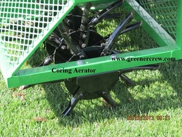 Aerator Coring Sports Complexes Grounds Maintenance  - $1,800.00