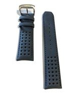 Original Citizen Eco-Drive Blue Angels AT8020-03L Blue Leather Watch Band Strap