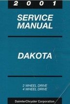 2001 Dodge Mopar DAKOTA TRUCK Service Repair Shop Workshop Manual OEM 2001 - $98.99