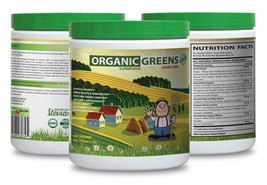 Boost Heart Health - Organic Greens Powder Berry 9.7oz - Green  Amazing 1C - $22.40